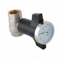 Кран шаровой с термометром Valtec (VT.808.N)