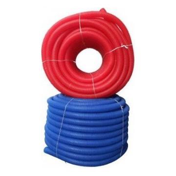 Гофрированная труба (Пешель) синяя/красная