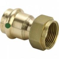 Разъемное соединение с плоским уплотнением EPDM,бронза пресс Viega Profipress (2263)