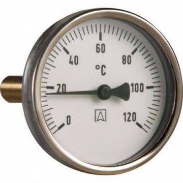 Термометр с гильзой AFRISO 40 мм/BITh63/0-120 С°