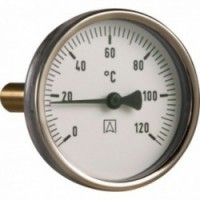 Термометр с гильзой AFRISO 63 мм/BITh63/0-120 С°