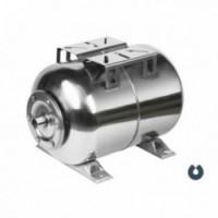 Мембранный бак из нержавеющей стали для систем водоснабжения 24-100л (горизонтальный) UNIPUMP