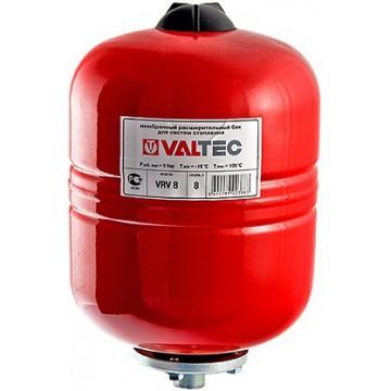Мембранный бак для отопления 8-35л Valtec (VT.RV.R)