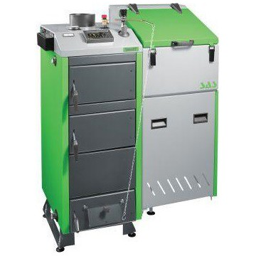 Твердотопливный пеллетный котел SAS BIOMulti 36 kWt