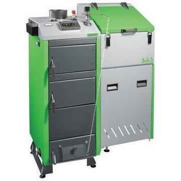 Твердотопливный пеллетный котел SAS BIOMulti 48 kWt