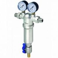 Фильтр механической очистки самопромывной с двумя манометрами RBM 100 мкм