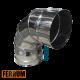 Колено дымохода из нержавейки 90° 4 секции Ferrum, РФ