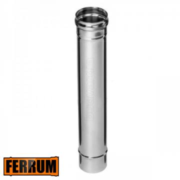 Труба дымохода 1 метр Ferrum, РФ