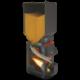 Твердотопливный пеллетный котел Теплодар Куппер ОК 20 с горелкой АПГ
